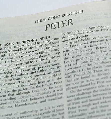 Պետրոս Առաքեալի ընդհանրական երկրորդ թուղթը